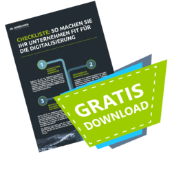 Grafik - Download Checkliste fit für die Digitalisierung | © HENRICHSEN AG